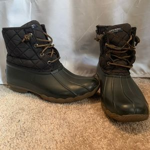 Sperry Saltwater Quilted Waterproof Boots